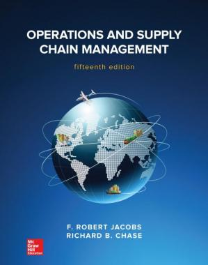 Book cover Operations and Supply Chain Management