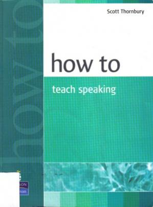 Book cover How to Teach Speaking