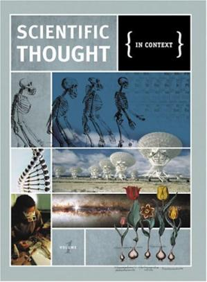 Book cover Scientific thought: in context. Vol.1,2,3