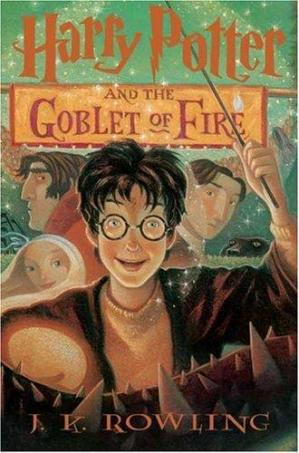 Book cover Harry Potter and the Goblet of Fire