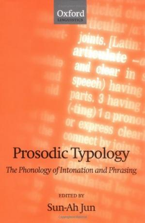 书籍封面 Prosodic Typology: The Phonology of Intonation and Phrasing (Oxford Linguistics)