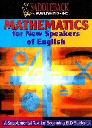 Book cover Mathematics for New Speakers of English