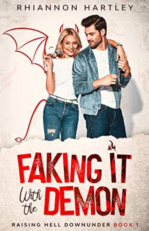 Book cover Faking It With the Demon: An Australian Feel-Good Paranormal Romantic Comedy