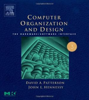 Portada del libro Computer Organization and Design, Third Edition: The Hardware/Software Interface, Third Edition (The Morgan Kaufmann Series in Computer Architecture and Design)