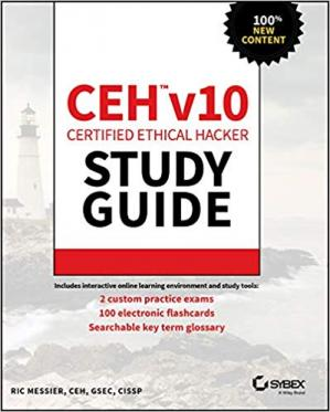 Book cover CEH v10 Certified Ethical Hacker Study Guide