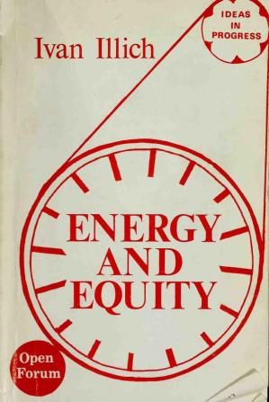 Book cover Energy and equity