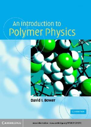 Book cover An Introduction to Polymer Physics