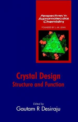 表紙 Crystal Design: Structure and Function