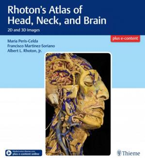 Copertina Rhoton's Atlas of Head, Neck, and Brain: 2D and 3D Images
