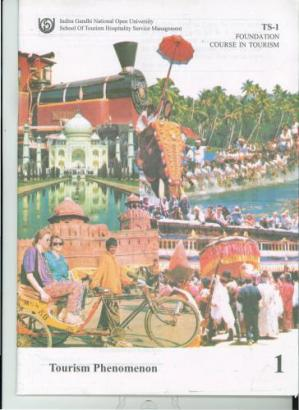 Book cover Certificate in Tourism Studies (CTS) Part-I