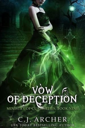 Copertina Vow of Deception