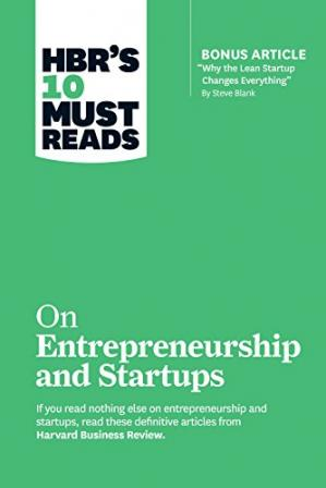 Book cover HBR's 10 Must Reads on Entrepreneurship and Startups