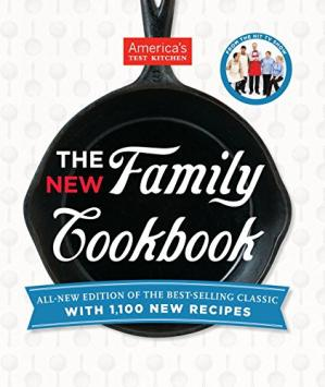 Okładka książki America's Test Kitchen. The new family cookbook : all-new edition of the best-selling classic with 1,100 new recipes