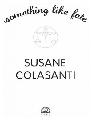 A capa do livro Something Like Fate