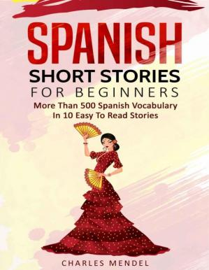 Book cover Spanish Short Stories For Beginners