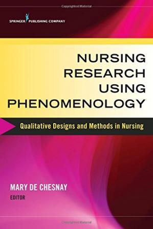 Обложка книги Nursing Research Using Phenomenology: Qualitative Designs and Methods in Nursing