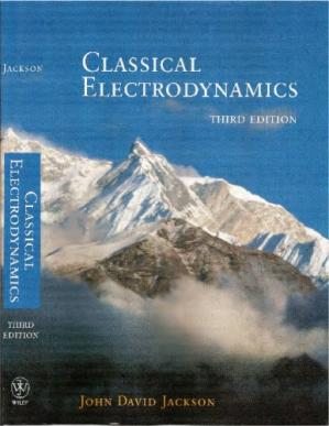 Book cover Classical Electrodynamics