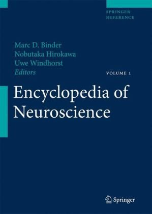 غلاف الكتاب Encyclopedia of Neuroscience