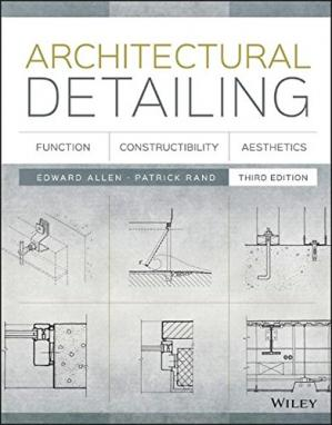 Book cover Architectural Detailing: Function, Constructibility, Aesthetics
