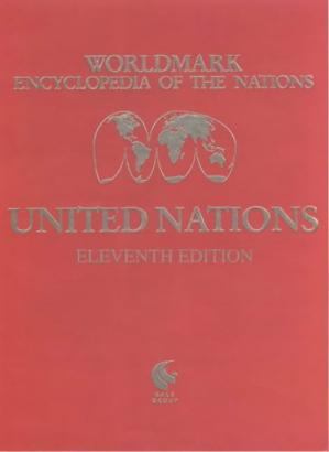 غلاف الكتاب Worldmark Encyclopedia of the Nations. Asia and Oceania