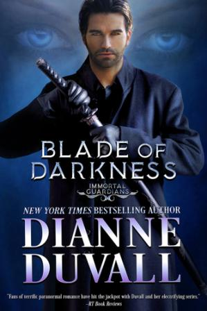 Book cover Blade of Darkness