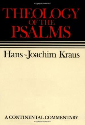 Book cover Theology of the Psalms