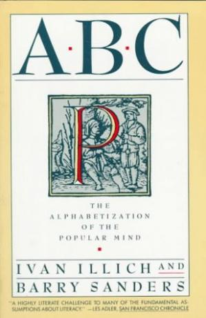 Book cover ABC: Alphabetization of the Popular Mind