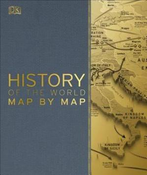 Book cover History of the World Map by Map