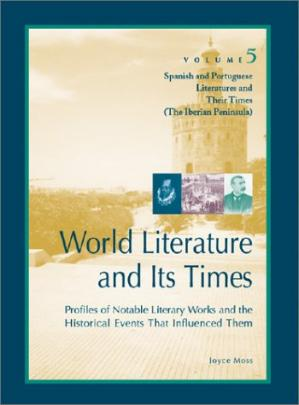 Portada del libro World Literature and Its Times, Volume 5: Spanish and Portuguese Literature and Their Times