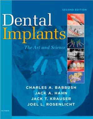غلاف الكتاب Dental Implants. The Art and Science