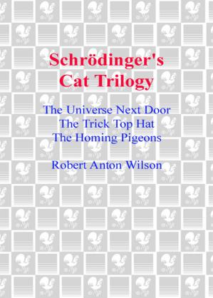 Sampul buku Schrödinger's Cat Trilogy: The Universe Next Door The Trick Top Hat The Homing Pigeons