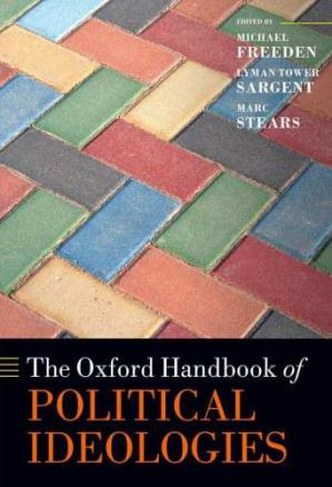 Book cover The Oxford Handbook of Political Ideologies