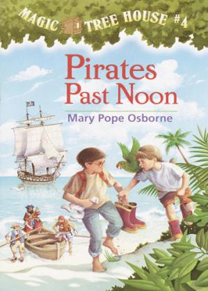 Book cover Pirates past noon
