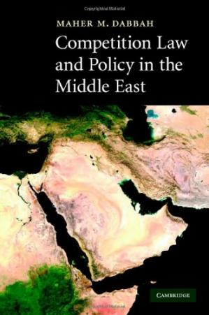 Portada del libro Competition Law and Policy in the Middle East