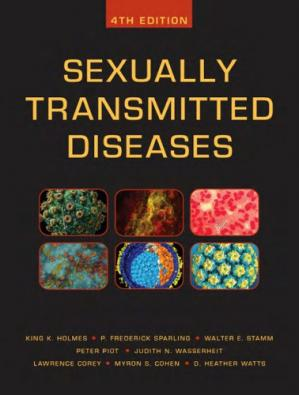 表紙 Sexually Transmitted Diseases (4th Ed.) - McGraw-Hill Medical