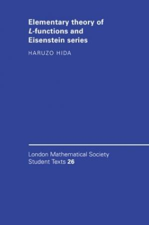 Sampul buku Elementary Theory of L-functions and Eisenstein Series