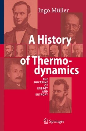 Обложка книги History of Thermodynamics: The Doctrine of Energy and Entropy