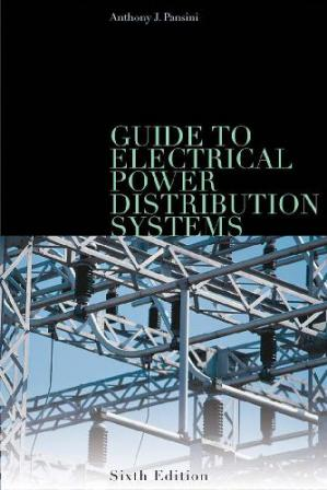 A capa do livro Guid to Electrical Power Distribution Systems