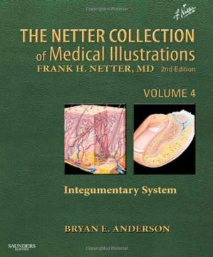 Обложка книги The Netter Collection of Medical Illustrations - Integumentary System: Volume 4