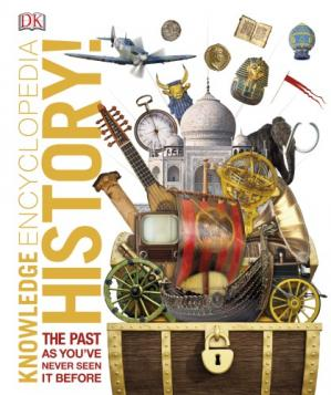 Portada del libro History! The Past as you've Never Seen it Before, Knowledge Encyclopedia