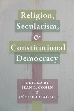 Couverture du livre Religion, Secularism, and Constitutional Democracy