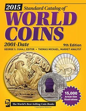 Book cover 2015 Standard Catalog of World Coins 2001-Date