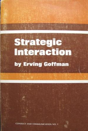 Book cover Strategic Interaction