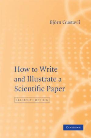 Buchdeckel How to Write and Illustrate a Scientific Paper
