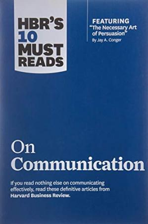 Buchdeckel HBR's 10 Must Reads on Communication by Harvard Business Review