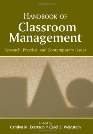 Copertina Handbook of Classroom Management: Research, Practice, and Contemporary Issues