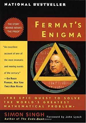 Sampul buku Fermat's Enigma: The Epic Quest to Solve the World's Greatest Mathematical Problem