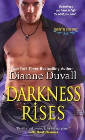 Book cover Darkness Rises