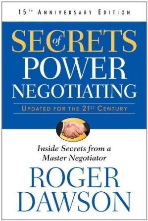 表紙 Secrets of Power Negotiating, 15th Anniversary Edition: Inside Secrets from a Master Negotiator