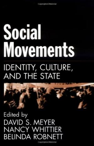 Book cover Social Movements - Identity, Culture and the State
